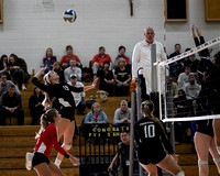 WCAC Girls 2018 Volleyball Championship PVI vs Holy Cross