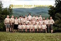Camp Olmsted/Goshen Scout Reservation Summer 2013